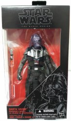 Star Wars Darth Vader Emperor's Wrath 6 in Black Series exclusive