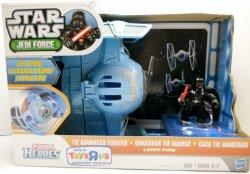 Star Wars Jedi Force Darth Vader and Captain Rex Playskool action figures