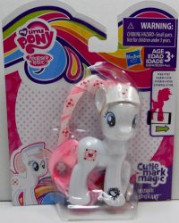 My Little Pony Cutie Mark Magic Nurse Redheart Ribbon hair exclusive