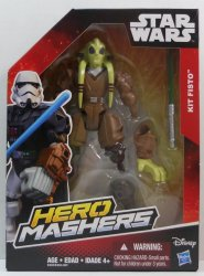 Star Wars Hero Mashers Kit Fisto 6 in action figure