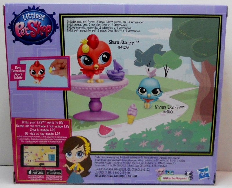 Littlest Pet Shop Play set
