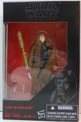 Star Wars Black Series Luke Skywalker Jedi Knight 3.75 in exclusive