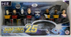 Pez Star Trek TNG 25th Anniversary Walmart Exclusive Set Limited