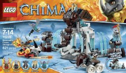 Lego Legends of Chima Mammoth's Frozen Stronghold 70226