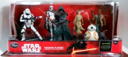 Star Wars 6 Figurine Play Set from The Force Awakens