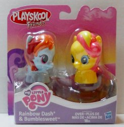 My Little Pony Playskool 2 pk, Rainbow Dash, Bumblesweet