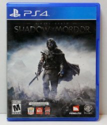 Middle Earth: Shadow of Mordor PS4 Sony Playstation video game