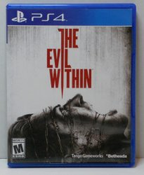 The Evil Within PS4 Sony Playstation Video game horror