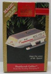 Star Trek Hallmark Keepsake Ornament Shuttlecraft Galileo 1992