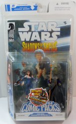 Star Wars Shadows of the Empire # 4 Comic Pack Leia Organa and Prince Xizor