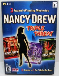 Nancy Drew: Triple Threat Mysteries #4, 5, 6 PC Video games