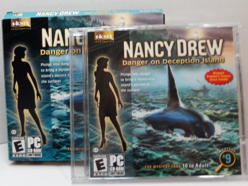 Nancy Drew Mystery PC video game #9