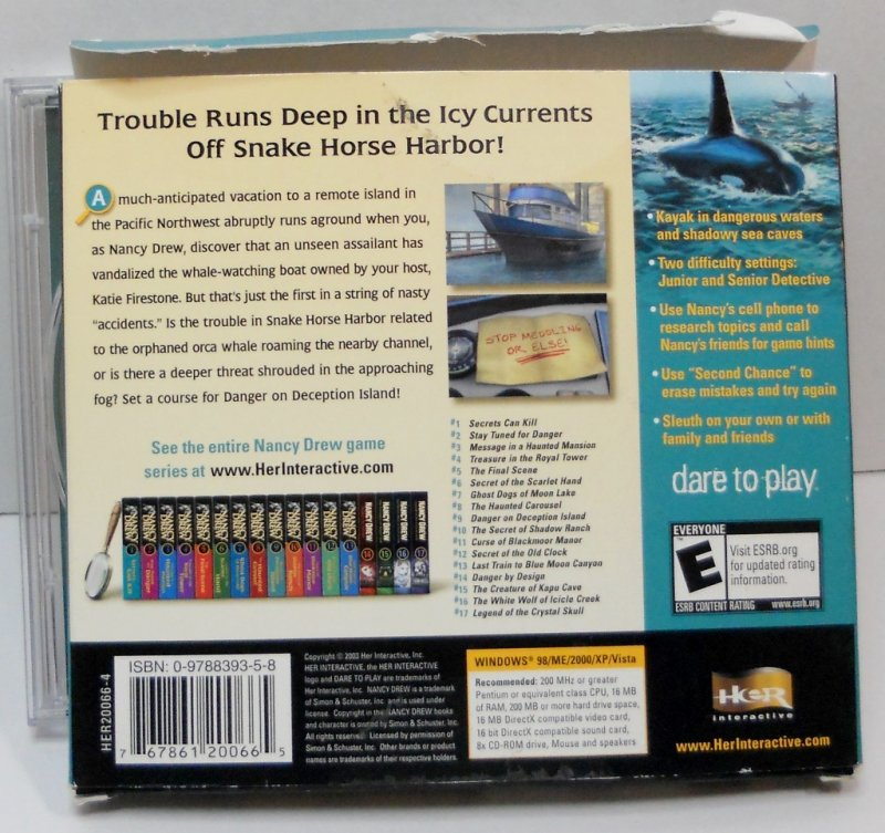 Nancy Drew Mystery PC video game #9