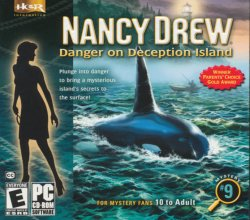Nancy Drew Mystery #9 Danger on Deception Island PC game