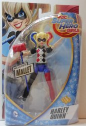 DC Super Hero Girls Harley Quinn 6 inch Action Figure