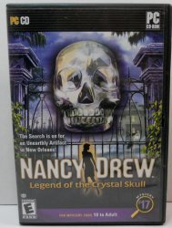 Nancy Drew Mystery #17 Legend of the Crystal Skull PC game