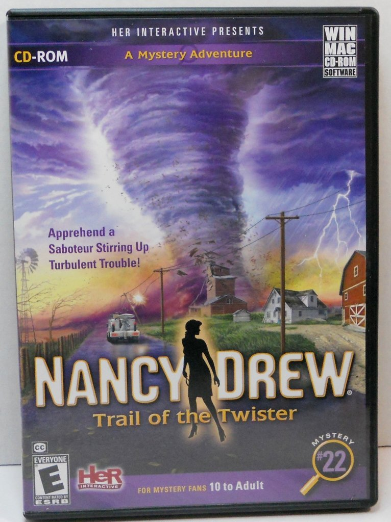 Nancy Drew Mystery #22 Win/Mac games