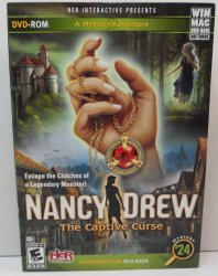 Nancy Drew Mystery #24 The Captive Curse Win/Mac games
