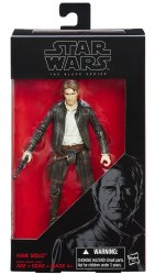 Star Wars Han Solo The Force Awakens Black Series 6 inch figure
