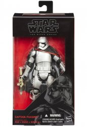 Star Wars Captain Phasma The Force Awakens Black Series 6 inch figure