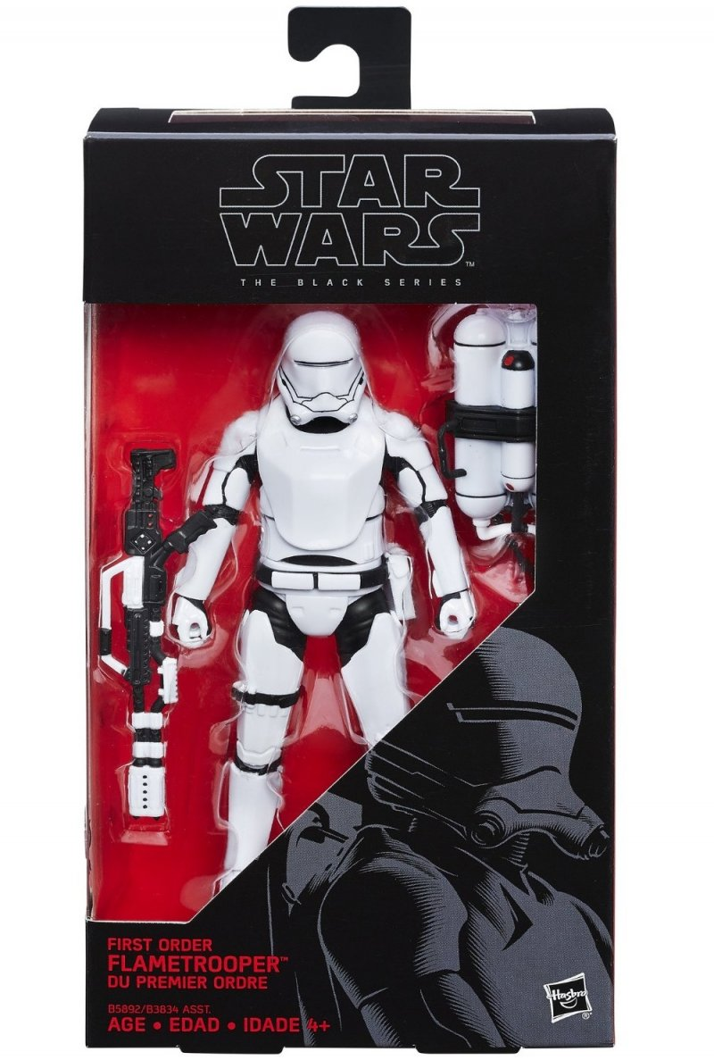 Star Wars The Force Awakens The Black Series 6 inch action figure