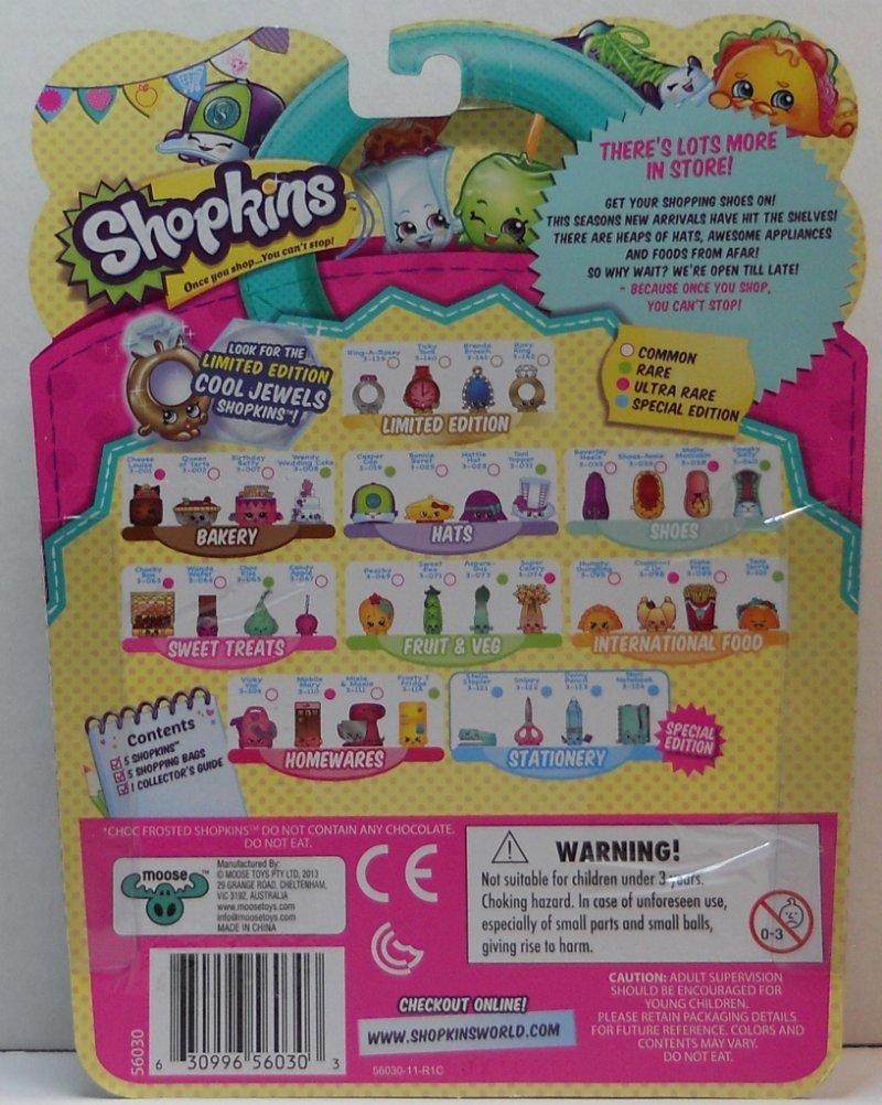 Shopkins 5 pack Season 3