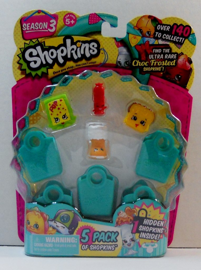 Shopkins 5 pack Season 3