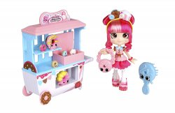 Shopkins Lil' Secrets Shoppies Donatina and Locket w/ Teenie Shoppie