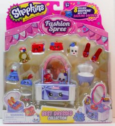 Shopkins Best Dressed Collection Fashion Spree Season 3