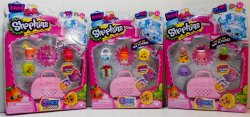 Shopkins 5 pk Season 4 Look out for new Petkins lot of 3