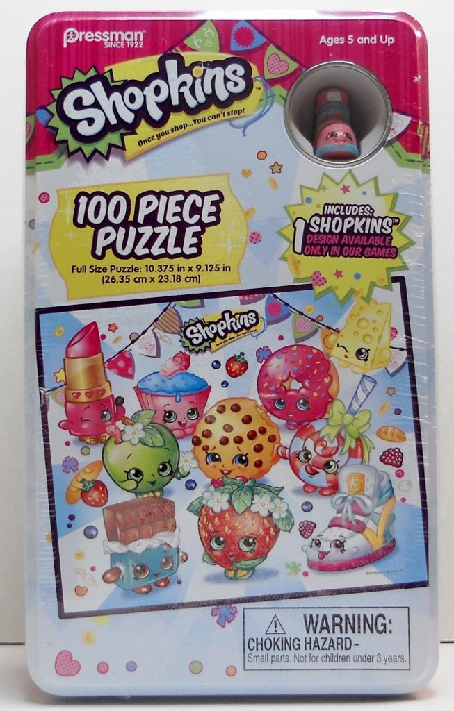 Game only designed Shopkins