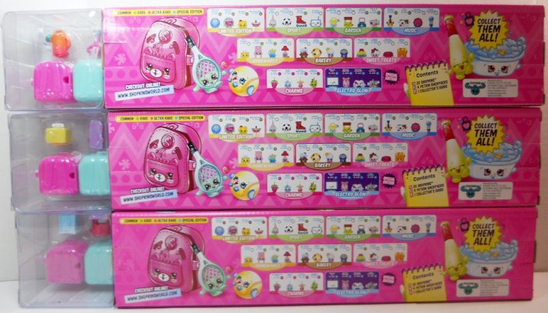 Shopkins Season 5 Mega Packs