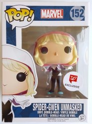 Spider-Gwen Unmasked Marvel Funko POP Vinyl #152 exclusive
