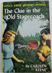 Nancy Drew #37 The Clue in the Old Stagecoach PC matte Blue EP