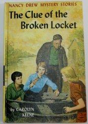 Nancy Drew #11 The Clue of the Broken Locket 1st PC OT blue EP
