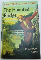 Nancy Drew #15 The Haunted Bridge first PC print by Carolyn Keene