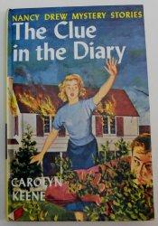 Nancy Drew #7 The Clue in the Diary by Carolyn Keene PC RT