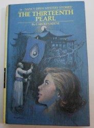 Nancy Drew #56 The Thirteenth Pearl 1979 PC matte by Carolyn Keene