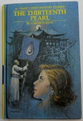 Nancy Drew #56 The Thirteenth Pearl 1979 PC matte oval EP by Carolyn Keene