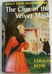 Nancy Drew #30 The Clue of the Velvet Mask, 1953 DJ OT