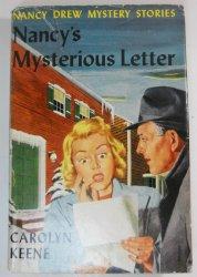 Nancy Drew #8 Nancy's Mysterious Letter, 1932 DJ OT