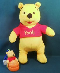 Tigger, Winnie the Pooh, stuffed plush toy 2002 release