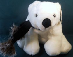 Khol's Exclusive Body Source Polar Bear plush 12 inch toy 2009