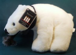'.Khol's Exclusive Polar Bear.'