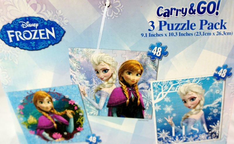 Carry & Go 3 puzzle pack