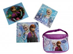 '.Disney Frozen Puzzle Bag.'