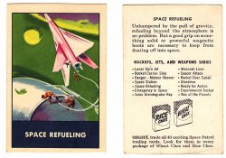 '.Space Patrol Trading Cards.'