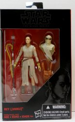 Star Wars Black Series Rey Jakku 3.75 in action figure The Force Awakens