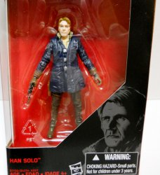 Star Wars Black Series Han Solo 3.75 in action figure The Force Awakens