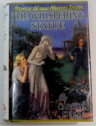 Nancy Drew 14 The Whispering Statue Applewood library discard Facsimile